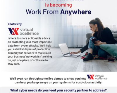 Secure network to work from home and protect your data from cyber threats.