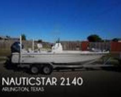 21 foot Nautic Star 2140 Sport
