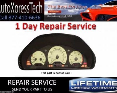1998 Up Mercedes Benz W208 Clk Class Instrument Cluster - Pixel Repair Service