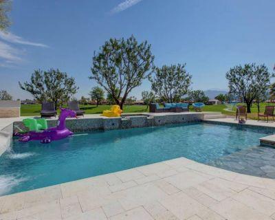 4 Bed Permit 107436 PGA West, salt water pool, slide, 600 game arcade - La Quinta
