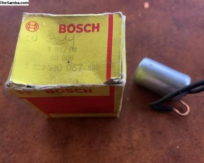 NOS Bosch Condenser 02006 1 237 330067