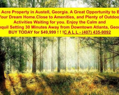 3.34 Acres for Sale in Austell, GA