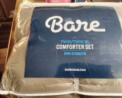 New Never Opened Bare Home Comforter Set - Twin/Twin Extra Long