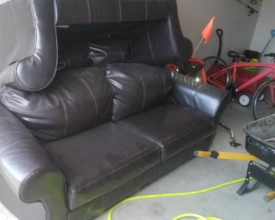 Leather Couch and loveseat for sale,