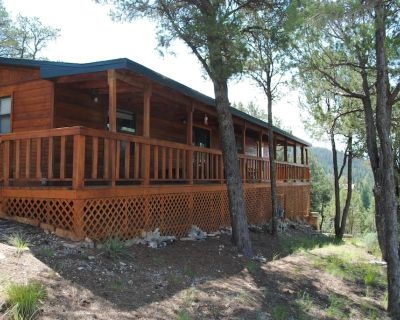 Spectacular Views! Cozy and peaceful this cabin borders the national forest! - Alto