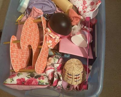 Babydoll accessories lot