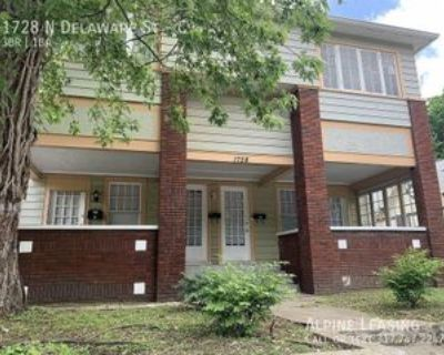 1728 N Delaware St #C, Indianapolis, IN 46202 3 Bedroom Apartment