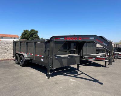 "2021 MAXXD TRAILERS 16' X 83"" 14k I-BEAM GN DUMP Dump Trailers Paso Robles, CA"