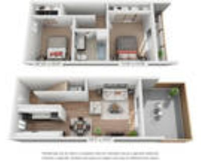 Halford Gardens - Two Bedroom-Townhouse-One Bath