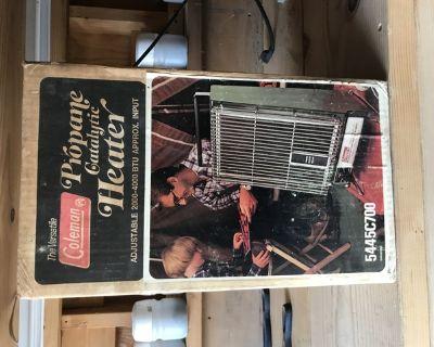 Coleman space heater