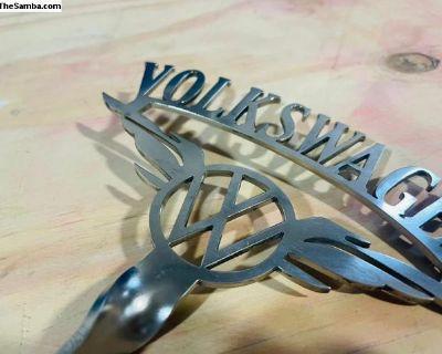 VW Bumper Eagle Style Emblem Adler German