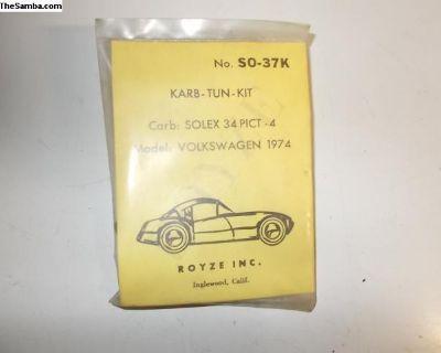 NOS Royze carburetor kit