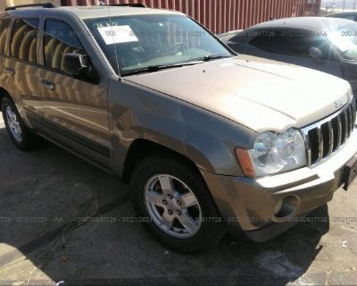 Salvage Brown 2006 Jeep Grand Cherokee