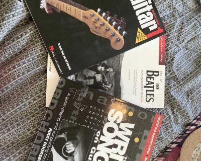 Various guitar books