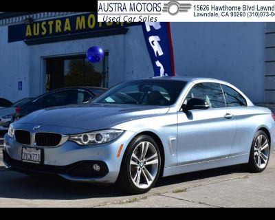 2014 BMW 4-Series 428i SULEV Convertible Sport Line