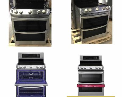 LG 7.3 cu. ft. ELECTRIC Double Oven with ProBake Convection and Infrared Grill