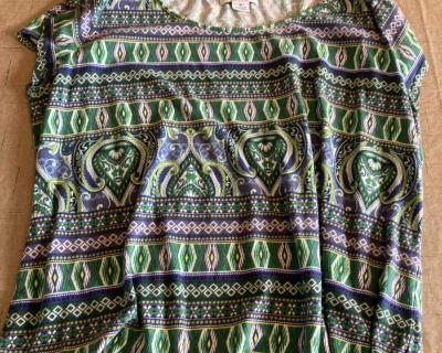 Women s Clothing Size 1X Liz Claiborne Shirt