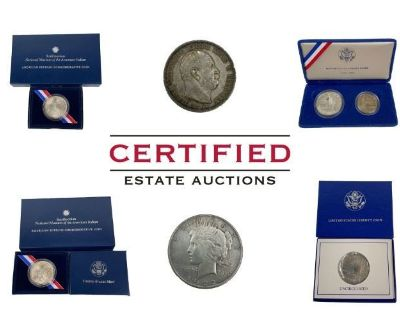Certified Estate Sales Presents: Huge Coin Collection Auction