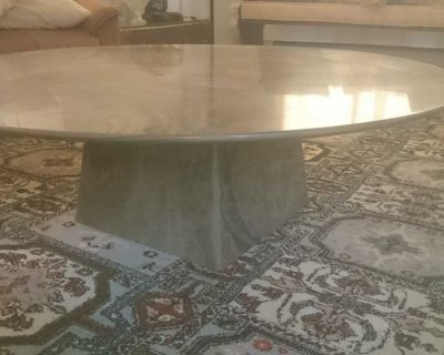 Marble Table - Table a Marbre - Vintage