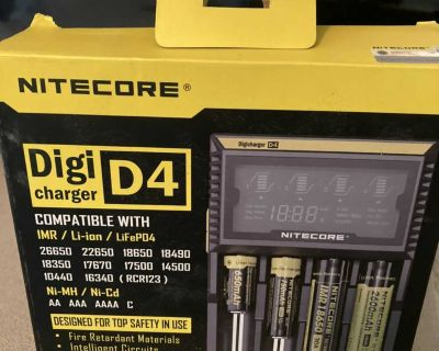 Nightcore battery charger