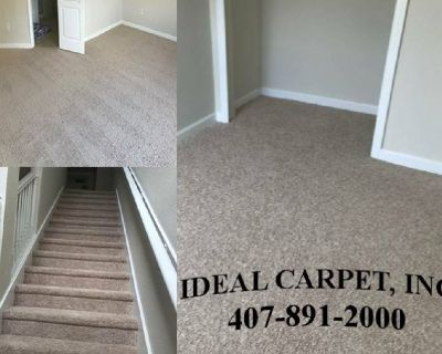 Carpet Installation Service at the Lowest Prices!