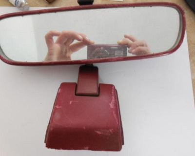 1987 Toyota 4runner Red Rearview Mirror. Yota Yard.