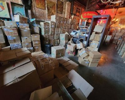 30,000 Vinyl Records - Spend $20, TAKE as many as you can CARRY out in 1 hour