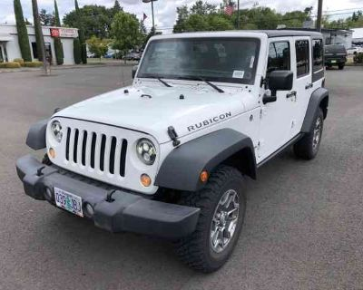2016 Jeep Wrangler Unlimited Rubicon ALLOY WHEELS, AIR CODNITIONING, BLUETOOTH