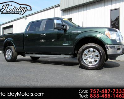 """Used 2012 Ford F-150 4WD SuperCrew 157"""" Lariat"""