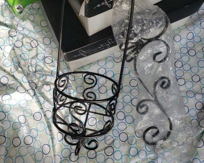 New 2 pc wall candle holder