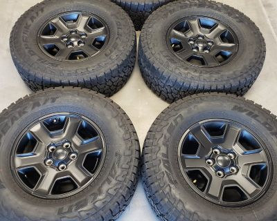 Arizona - New Mojave wheel and tire set with TPMS and spare