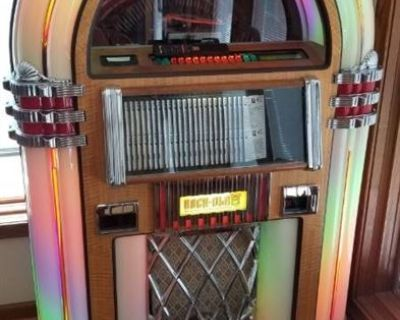 L & L Family Estate Sales Awesome Online Auction Featuring A Rock-Ola CD Bubbler Jukebox, Thomasvill