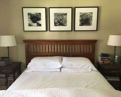 Wood Arts & Crafts Queen-sized Bed