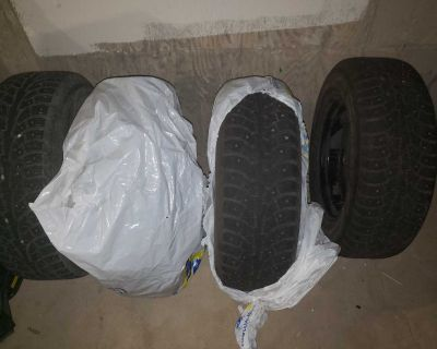 225/65R16 winter tires with rims