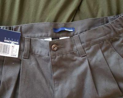 Brand New Basic Editions Mens Pants 32x32