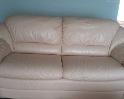 Genuine Italian Leather Couches