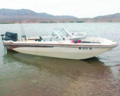 FISHING/ SKI Boat 18ft, Fish ARE Biting! Glastron with 150 horse power. Suzuki engine,...