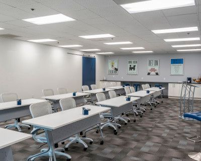 Workshop & Meeting Space with Interactive 40 ft Whiteboard Wall!, Norcross, GA