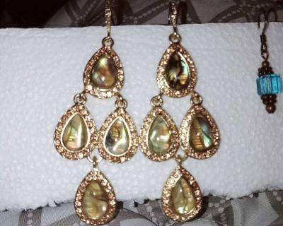 Abalone Chandelier Earrings