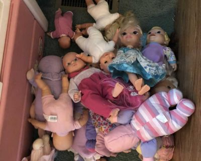 Baby dolls $5 for all