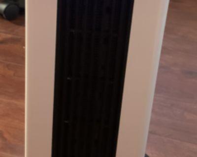 Wiland PTC Heater/Fan, LCD Electric Heater W/ Remote Control