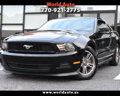 2012 Ford Mustang 2dr Cpe Premium
