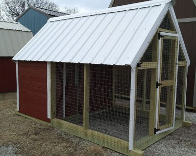 6x10 Chicken Coop for Sale / Rent to Own