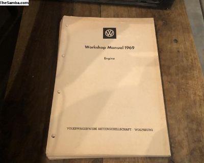 WorkShop Manual 1969 Engine