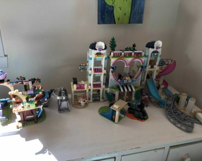 LEGO mostly LEGO FRIENDS but others as well. MAKE AN OFFER