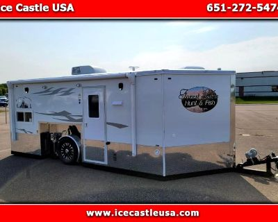 Used 2022 American Surplus Ice Castle 8x17V Fish and Hunt