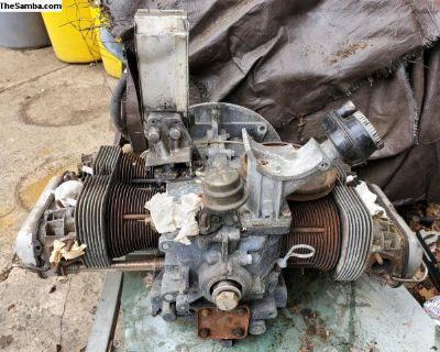 Dual port used long block engine AH case
