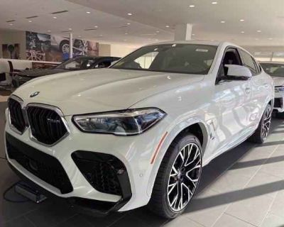 New 2021 BMW X6 M Sports Activity Coupe