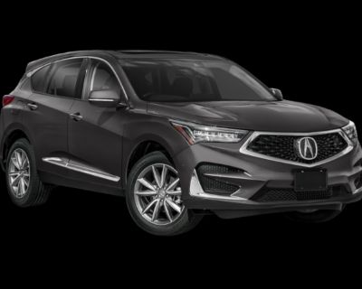 New 2021 Acura RDX Technology Package Front Wheel Drive SUV