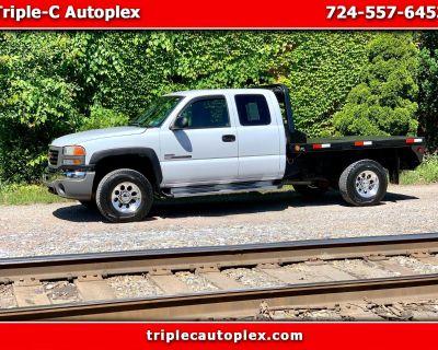 """Used 2006 GMC Sierra 2500HD Ext Cab 157.5"""" WB 4WD Work Truck"""